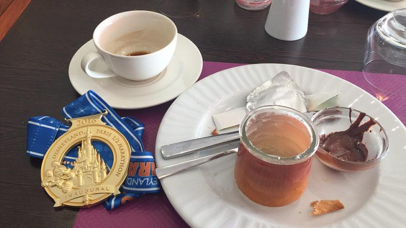 Second breakfast na de halve marathon