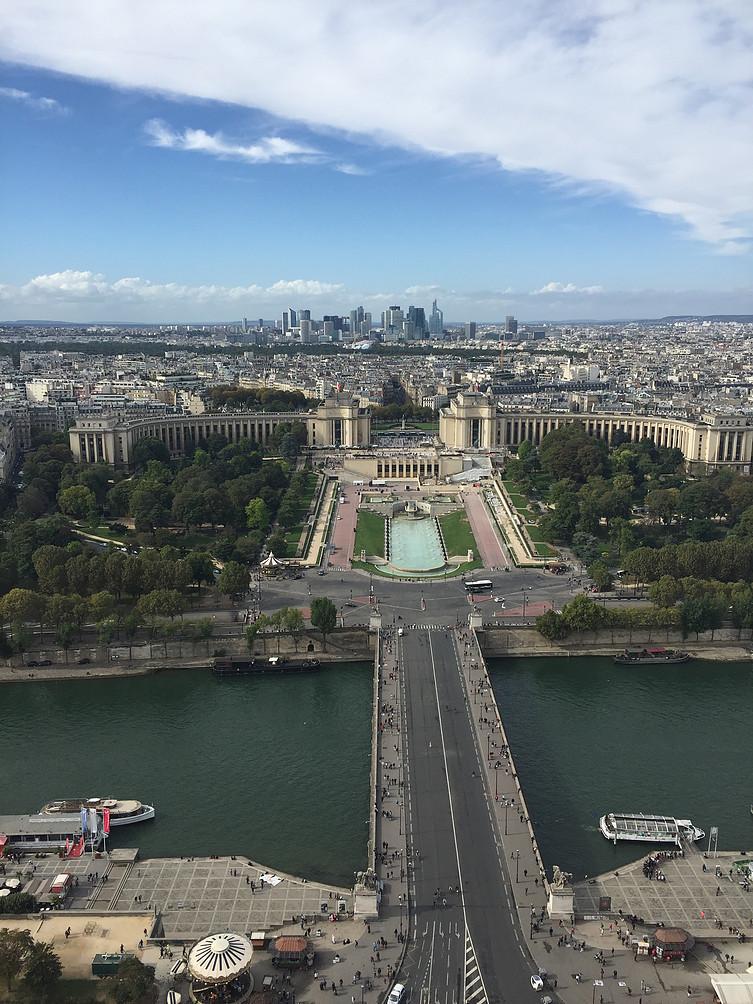 Eiffeltoren view