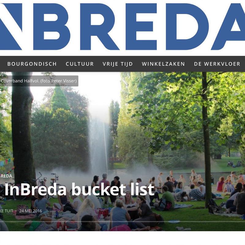 InBreda Breda Bucketlist
