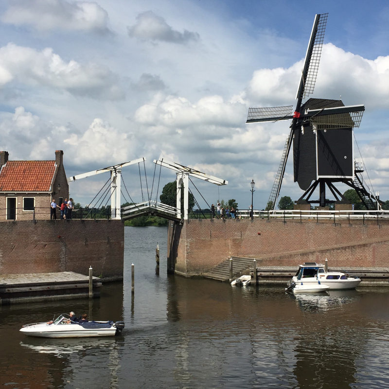 Heusden haven molen