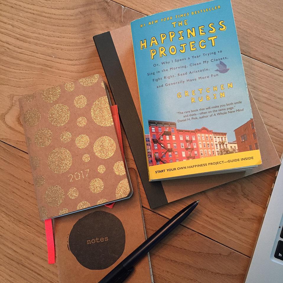 Januari: opstarten & The Happiness Project
