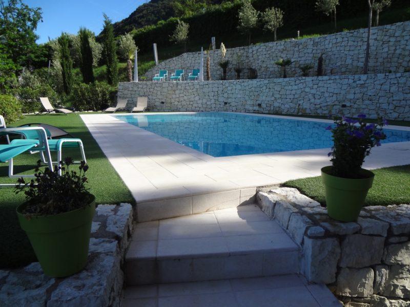 Casa Velo zwembad Arco Gardameer vakantie Italie
