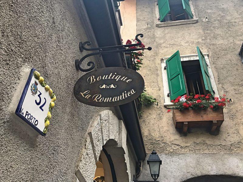 Limone sul Garda aan Gardameer, Italie