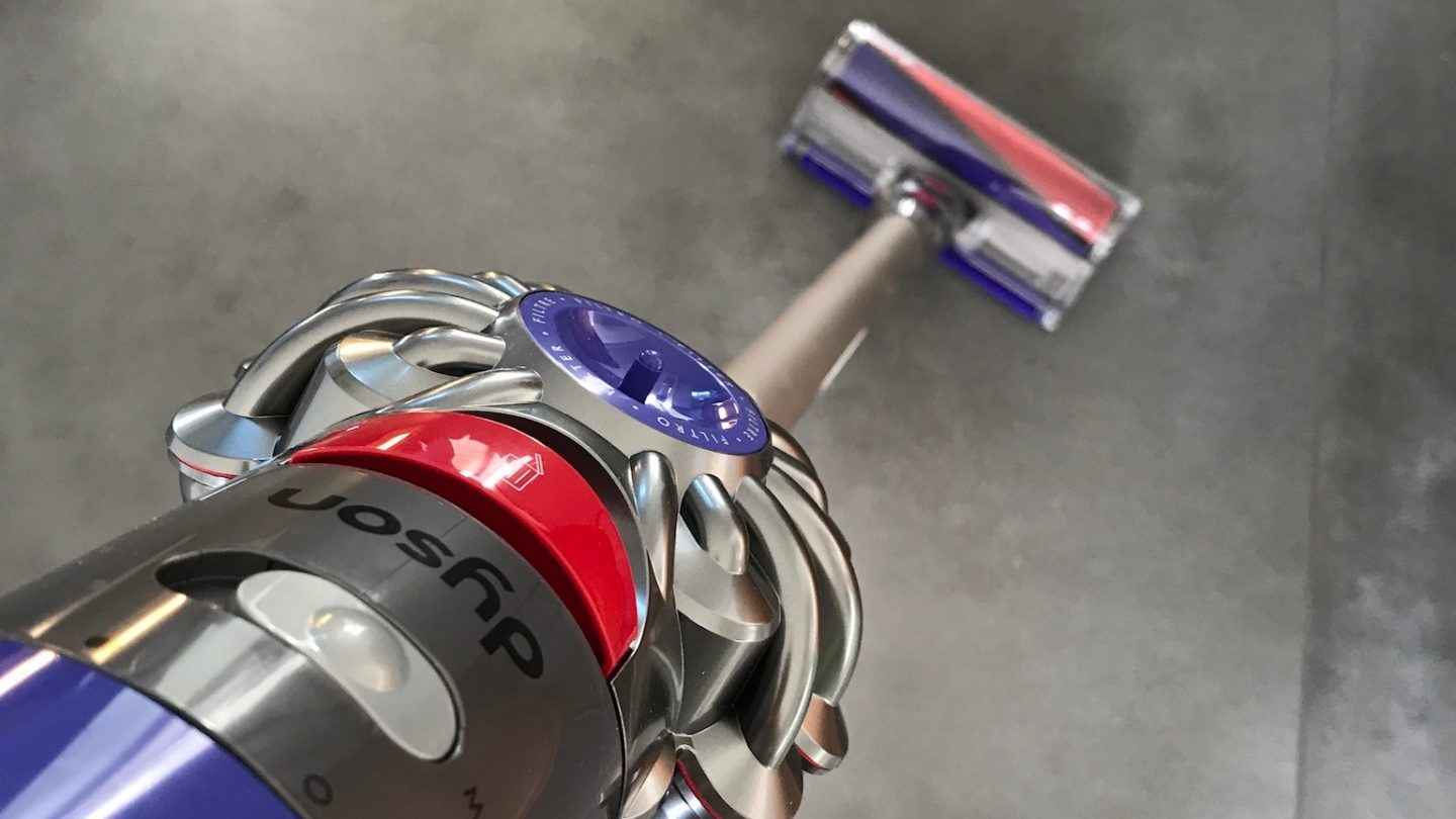 Review Dyson draadloze snoerstofzuiger V8 Absolute+