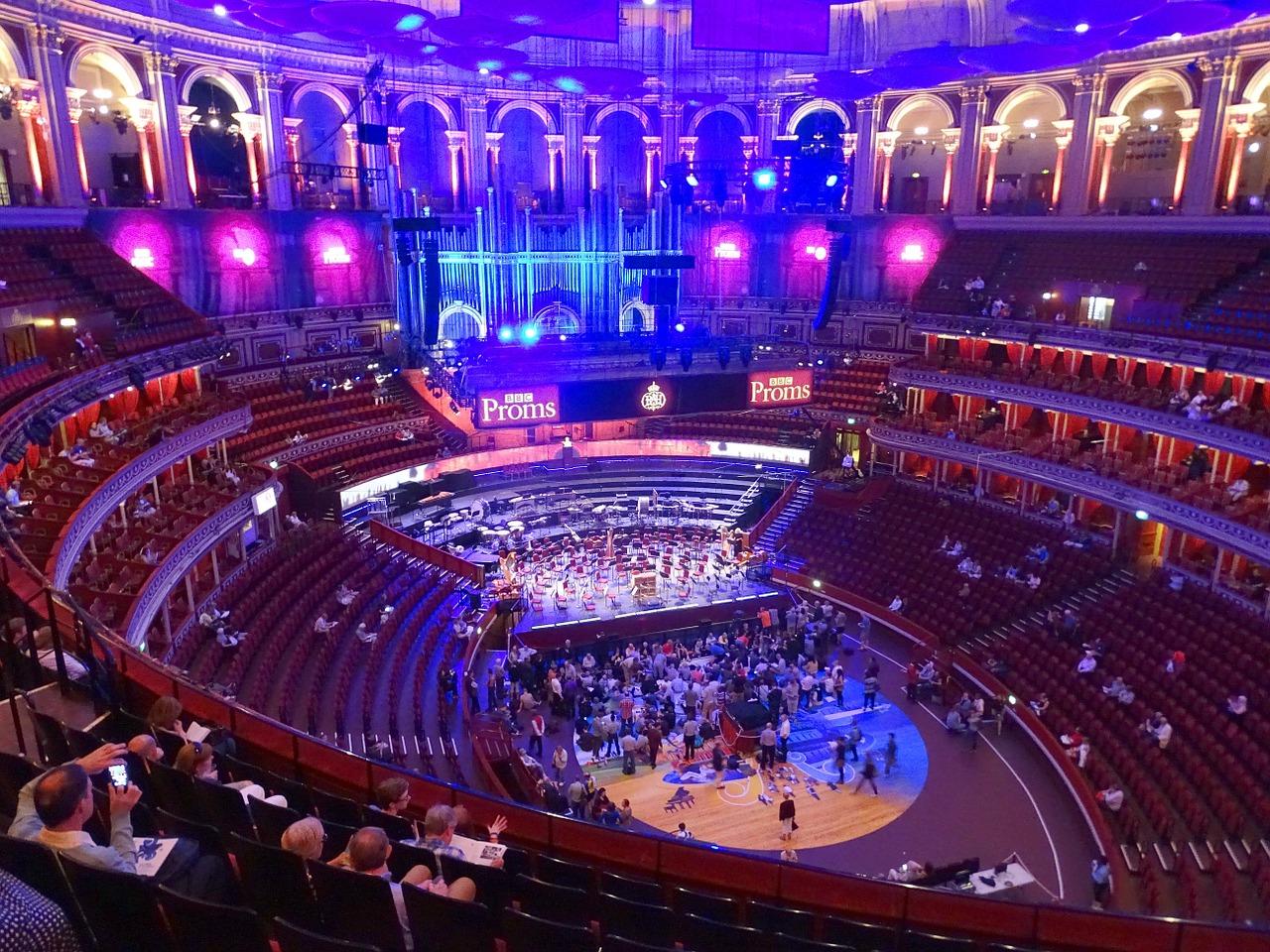 Royal Albert Hall Londen van binnen
