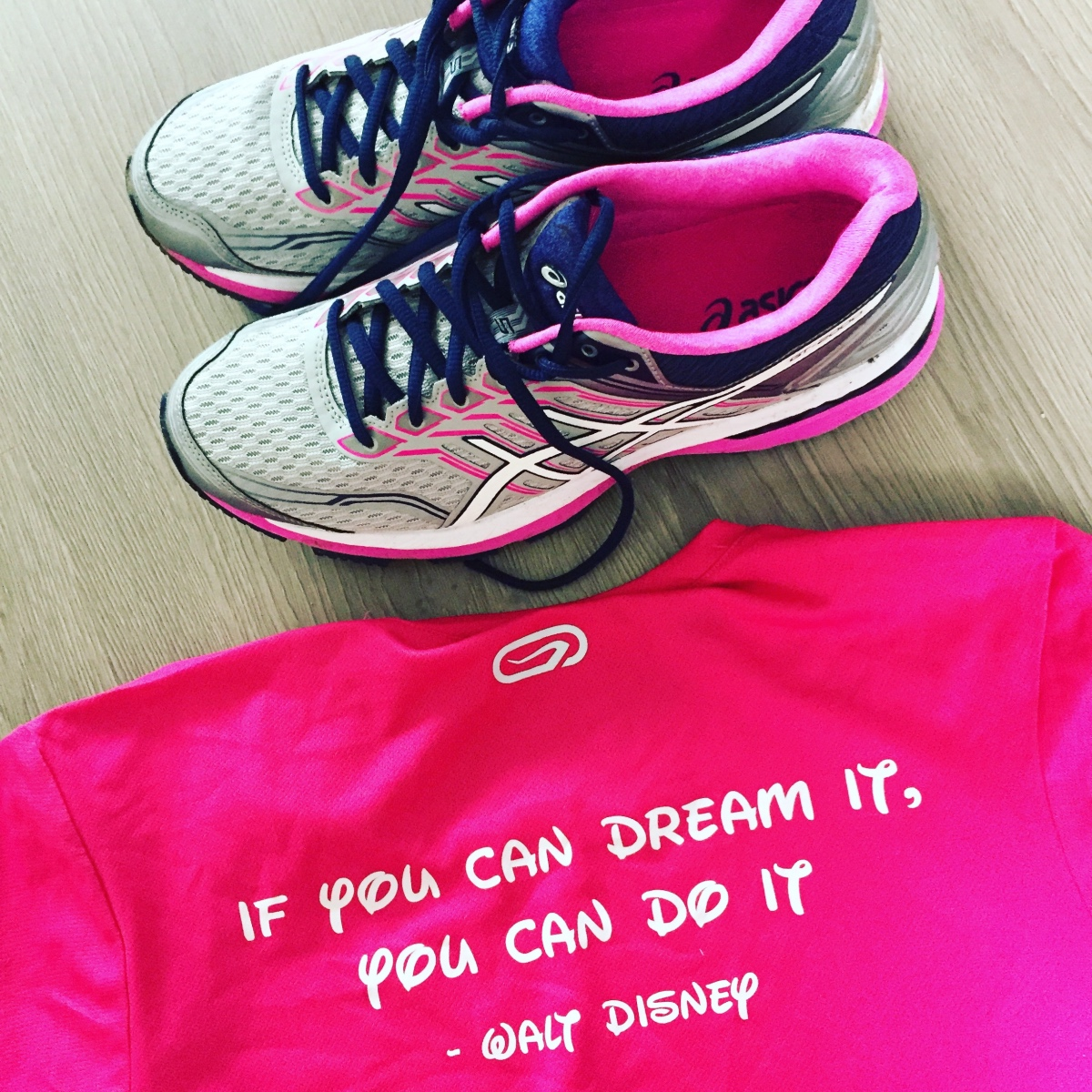 "Hardloop motto ""if you can dream it, you can do it"" - Walt Disney"