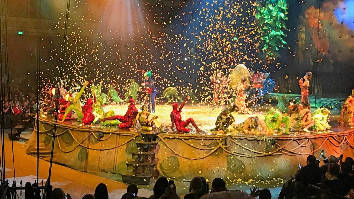 Cirque du Soleil Ovo in the Royal Albert Hall Londen