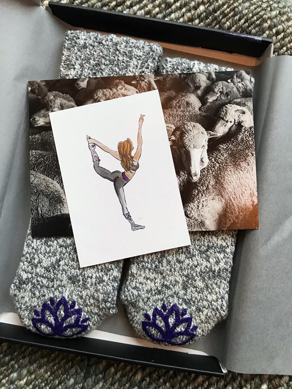 Yoga sokken van Soxs
