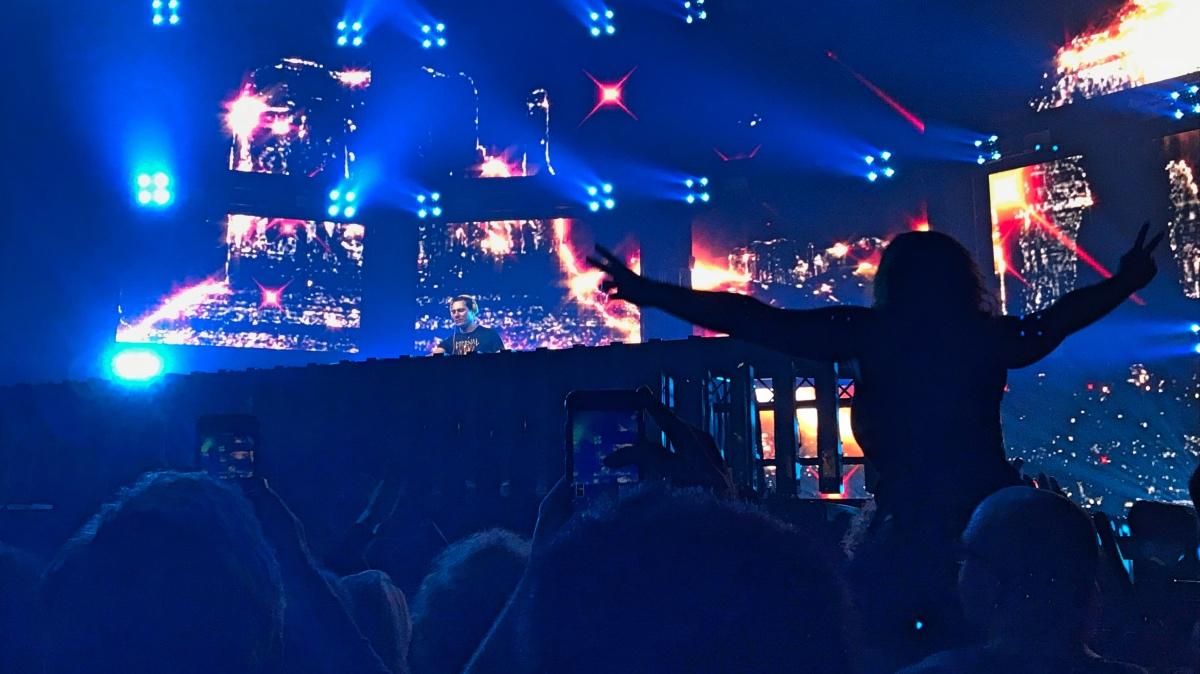 Optreden van DJ Tiesto in Breepark Breda