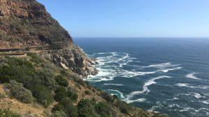 Spectaculaire kustroute Chapman's Peak Drive bij Kaapstad Zuid-Afrika