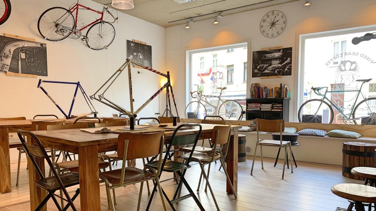 Goede koffiezaak voor fietsers en koffieliefhebbers in Valkenburg: Fixed Gear Coffee