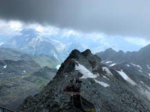 Mont Fort in de Zwitserse Alpen in de zomer