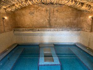 Thermaalbad in de gewelven van hotel Rural in San Miguel op Tenerife