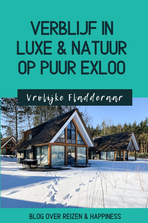 vakantie verblijf in luxe en natuur op puur exloo pinterest
